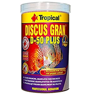 Tropical Discus Gran D-50 Plus, 1er Pack (1 x 1 l)