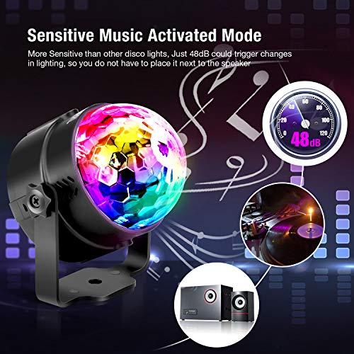 Zoom IMG-1 luci discoteca led omeril usb