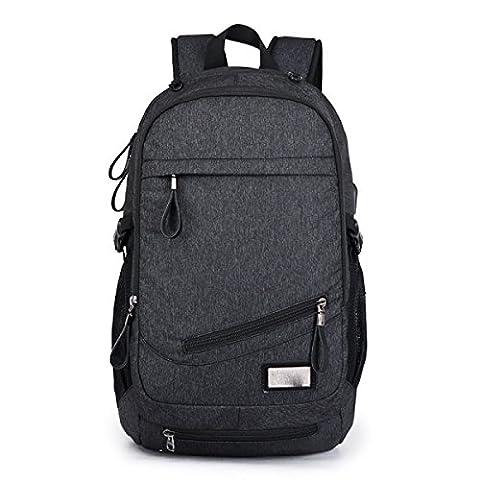 Men's Backpack Shoulder Bag Basketball Pack,Black