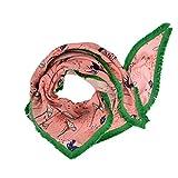 POM Schal Water Lily Pink 125x130 cm - POM Amsterdam Tuch