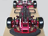 Rcmodelpart Alloy & Carbon 1/10 4wd Drift Racing Car Frame Kit W/front One Way for Sakura D3 Cs RC Car by Rcmodelpart