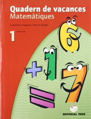 Matemàtiques. Quadern de vacances 1er ESO - 9788430749669