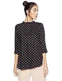 Van Heusen Women's Plain Regular Fit T-Shirt