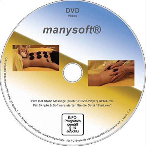 Hot Stone Massage Film und Seminarskript auf...