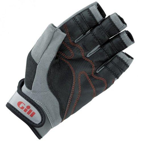Gill Championship Short Finger Sailing Gloves Black 7241 Sizes- - Small