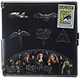 Harry Potter Symbole Pin-Set grau