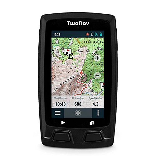 TwoNav Horizon Negro - GPS Full Connect Senderismo