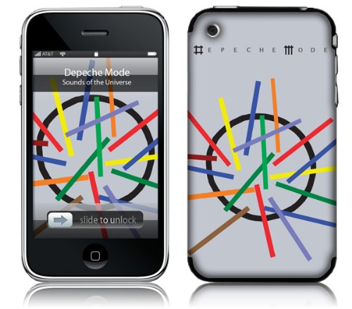 MusicSkins Depeche Mode - Sounds Of The Universe, Skin per Apple iPhone 2G/3G/3G S