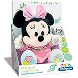 Clementoni Animales de Cine y Television Peluche juega y aprende Minnie Color rosa 65192.4
