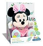 Clementoni Animales de Cine y Television Peluche Juega y aprende Minnie, Color Rosa (65192.4)