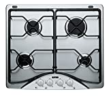 Ignis AKS 337/IX Built-in Gas Stainless steel hob - Hobs (Built-in, Gas, Stainless steel, Stainless steel, Stainless steel, 1000 W)