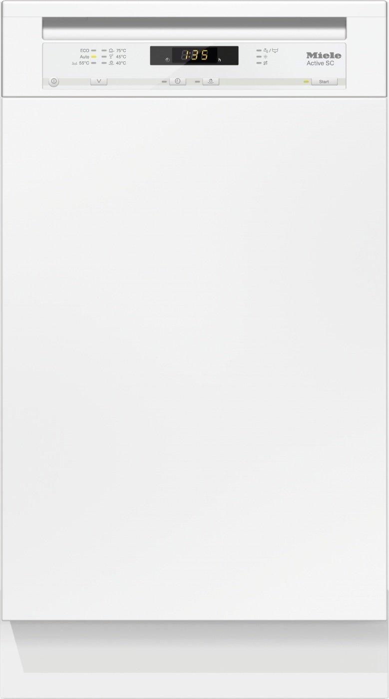 Miele G4620 SCi Active Geschirrspüler Teilintegriert/A+ / 221 kWh/Jahr / 2940 L/Jahr/brilliantweiß/Besteckschublade