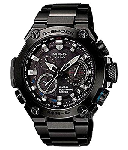 Casio G-Shock MR-G Atomic Solar GPS Hybrid MRG-G1000 MRGG1000B-1A