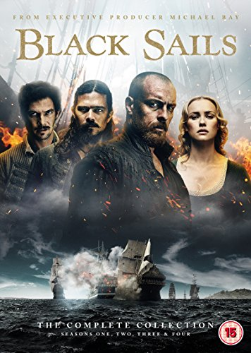 Black Sails: The Complete Collection (Seasons 1-4) [DVD] [UK Import]