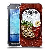 Head Case Designs Bento Schachtel Orientalische Nahrung Soft Gel Hülle für Samsung Galaxy Xcover 3
