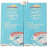 Granarolo Bontà Leggera - Latte Uht Parzialmente Scremato 1L (Confezione Da 4)