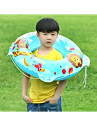 Anillo inflable de la nadada de la historieta de los niños que espesa la cuerda de la correa Bóveda de la vida del PVC que flota el anillo de la natación , 80 about 280g