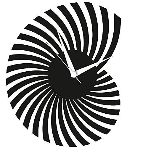 Wanduhr, Design Schallplattenuhr mit Quarzwerk, Einzigartiges Geschenk, Made in Germany, Nautilus