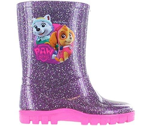 Girls Paw Patrol Wellies Wellington Boots Snow Boots
