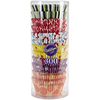 Wilton Variety Paper Party Baking Cups 300 Pack Candy Cupcake Cake Muffin Liners