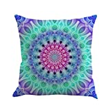 "Xinan Kissenbezug Geometrie Bohemian Pillowcase Kissen Sofa Home Dekor 45x45 (45cm*45cm/18 * 18"", A)"