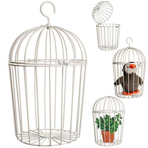3 Stück _ Vogelkäfige aus Metall -