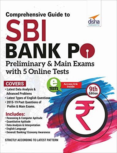 Comprehensive Guide to SBI Bank PO Preliminary & Main Exam with 5 Online Tests