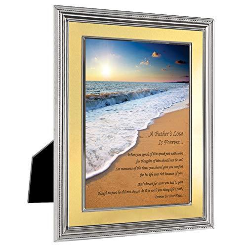"""""""Forever in Your Heart"""" Verlust von Vater Gedicht, Beileids Trauerkarte"""