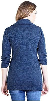 Montrex Blue Long Coat for Women