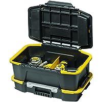 Stanley Combinación de Caja para Herramientas y Organizador, Negra, STST1-71962, Amarillo