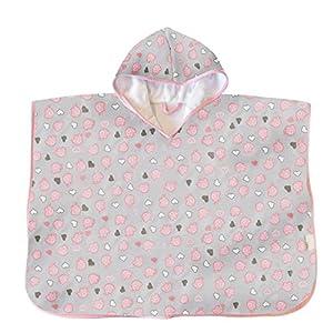 Slumbersac Baby/Toddler Bath Poncho Pink Elephant, 1-3 Years