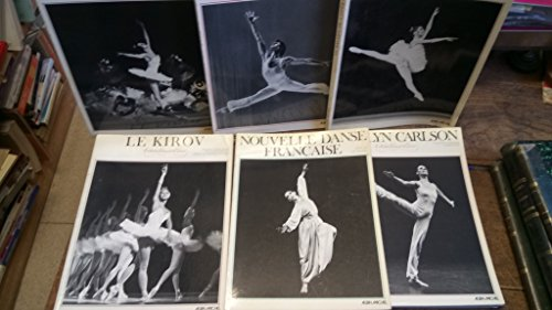 Lot de 6 livres collection visions de la danse : Le Kiroc - Le lac des cygnes - Paolo Bortoluzzi - nouvelles danse française - Carolyn Carlson - Le ballet de l'opéra - par collectif