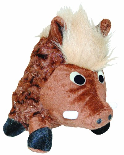 Patchwork Pet Swirl Warthog 14-Inch Squeak Toy for Dogs by Patchwork Pet