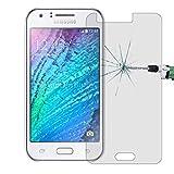 Película de cristal moderada del teléfono móvil 50 PCS para Galaxy J1 Ace / J110 0.26mm 9H Dureza superficial 2.5D Película protectora de vidrio templado a prueba de explosiones, sin paquete al por me