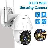 Telecamera 1080P WLAN PTZ esterna visione notturna a infrarossi monitoraggio della sicurezza wireless e monitoraggio automatico monitoraggio remoto bidirezionale voice-1080P_With_32G_Card