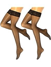 Lust Stockings Schwarz//Rot Strumpfhose Naht Strumpfgürtel Leg Fashion  S//M  L//XL