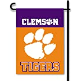 Bsi Products 83125 Clemson Tigers - 2-Sided Garden Flag