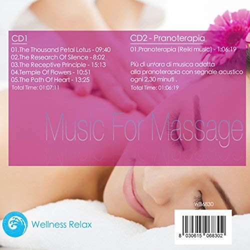 Zoom IMG-1 music for massage musica per