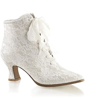 Fabulicious Ankle-Booties mit Spitze Victorian-30