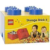 LEGO 4-Plug Storage Brick Toy (Blue)