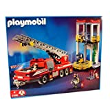 playmobil Fire Engine - playmobil 3386