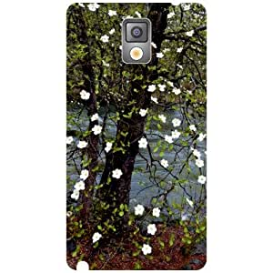 Via flowers Back Cover For Samsung Note 3 Dazzling Multi Color