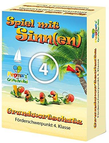 Piepmatz und Grünschnabel Spiel MIT SINNE(EN) ERWEITERUNG - Förderschwerpunkt 4.Klasse