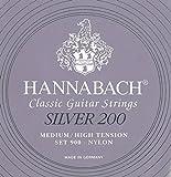 Hannabach 652670.0 - Pack de cuerdas para guitarra clásica