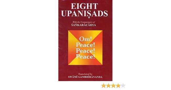 Epub eight gambhirananda upanishads swami