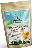 Pollen d'abeille Espagnol Bio - haut contenu des vitamines C, B1, B2, B3, fer, zinc et magnésium - granules de pollen d'abeille de la plus haute qualité par TheHealthyTree Company