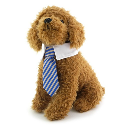 tore Twill Baumwolle Krawatte für kleine Hunde Katzen Kostüm Puppy Krawatte Gentleman Krawatte für weibliche Stecker gestreift Krawatte Halsband (Paare Kostüme Halloween Ideen)