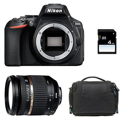 NIKON D5600 + TAMRON 17-50 Di II VC LD + Sac + SD 4Go