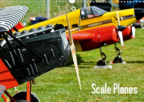 Scale Planes / UK-Version (Wall Calendar 2020 DIN A3 Landscape): Fascinating Remote Control scale airplanes, shot in flight. (Monthly calendar, 14 pages ) (Calvendo Hobbies)