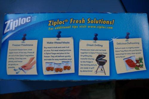 Ziploc schwer-Duty-Gefrierschrank Gallone und Gefrierschrank Packung mit 38